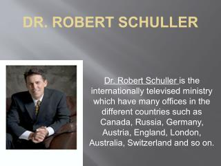 Robert Schuller Ministries