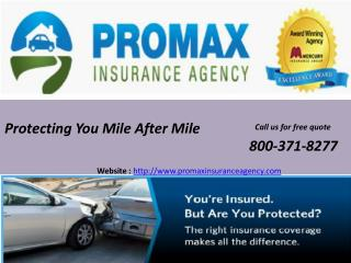Cheap auto insurance in California