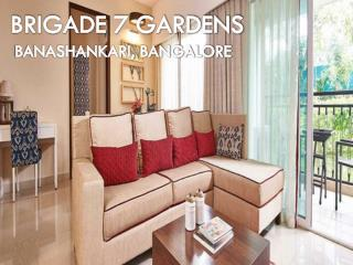 Lavish Apartments by Brigade 7 Gardens, Bangalore | Call: ( 91) 9953 5928 48