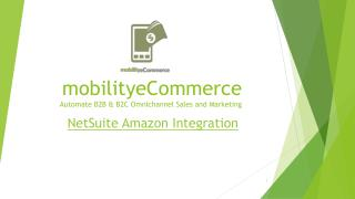 NetSuite Amazon Integration