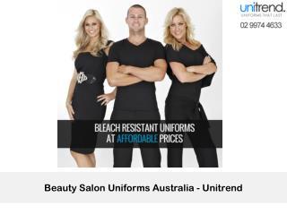 Beauty Salon Uniforms Australia –Unitrend