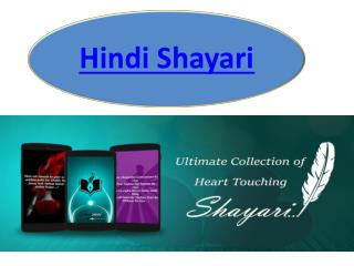 Latest collection of Sad and love Hindi Shayari and Status