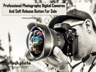 Professional Photography Digital Cameras and Soft Release Button for Sale