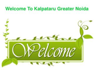 Kalpataru Greater Noida Call@9739976422