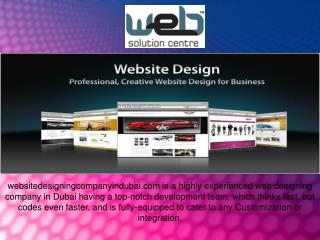 Website Designing Company in Dubai
