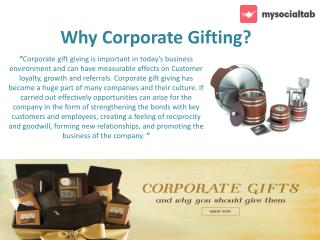 Buy Corporate Business Gifts and Promotional Products Online