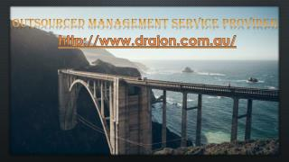 outsourced management service provider