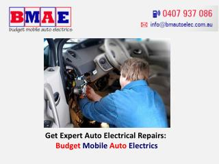 Get Expert Auto Electrical Repairs: Budget Mobile Auto Electrics