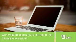 Why website redesign is required for growing business?