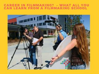 Digital Filmmaking School