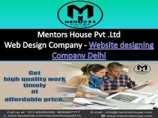 Web Designing Company - MentorsHouse
