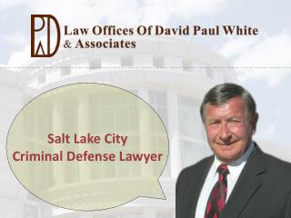 Salt Lake City Criminal Defense Lawyer