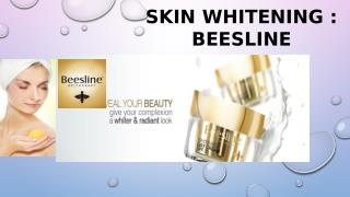 Beesline : skin whitening, skin lightening