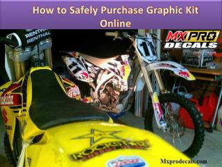 How to Safely Purchase Graphic Kit Online