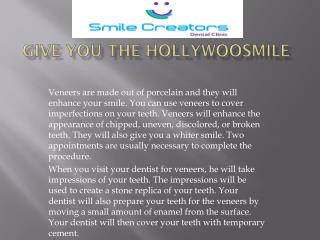 Give You The Hollywood Smile That You Deserve.pdf