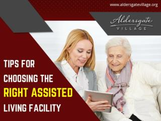 Guide to Choose the Right Assisted Living Facility in Topeka KS