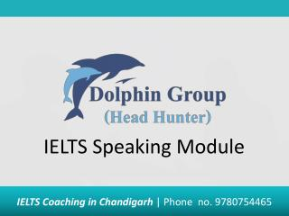 introduction of ielts speaking module