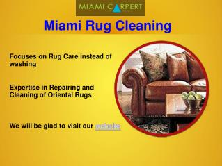 Carpet Cleaning Services Miami