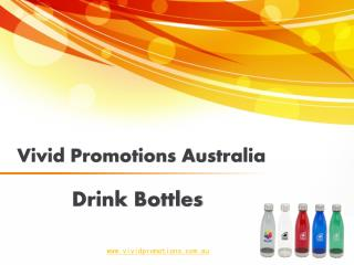 Shop For Promotional Drink Bottles From Vivid Promotions
