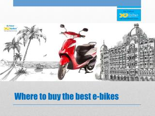 Where to buy the best e-bikes