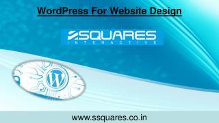 WordPress For Website Design