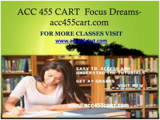 ACC 455 CART  Focus Dreams-acc455cart.com