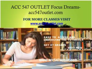 ACC 547 OUTLET Focus Dreams-acc547outlet.com