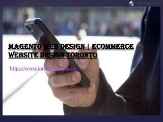 Magento Web Design | eCommerce Website Design Toronto