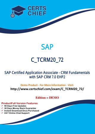 C_TCRM20_72 Exam Real Questions