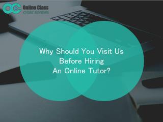 Take My Online Class Reviews