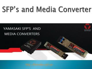 Fibre Optic SFP and Media Converter