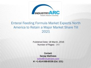 Enteral Feeding Formula Market: Research Finds Enteral Supplements Vital for Daily Nutrition | IndustryARC