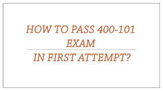 400-101 VCE Exam