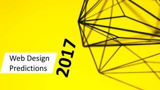 Web Design Predictions 2017
