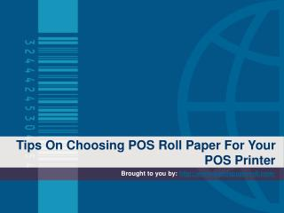Tips On Choosing POS Roll Paper For Your POS Printer
