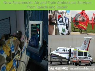 Medical Air and Train Ambulance Services from Mumbai