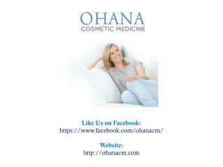 Looking for a Cosmetic Clinic in Richmond?