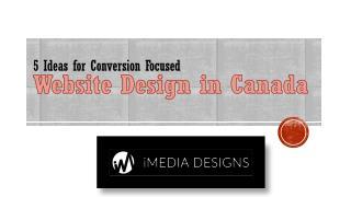 5 Ideas for Conversion Focused Website Design
