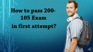 200-105 Practice Test