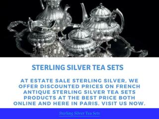 Sterling Silver Tea Sets