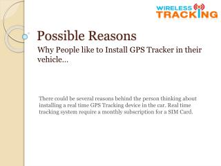 Simple steps to install Gps Locator