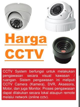 Harga CCTV Kamera