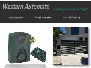 Automatic Sliding Gates Service & Repair in Perth