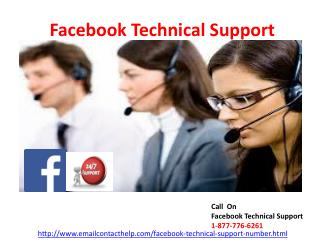 Need Facebook Technical Support  ? At 1-877-776-6261