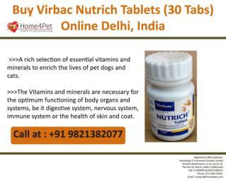 Buy Virbac Nutrich Tablets (30 Tabs) Online, Delhi, India