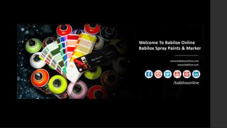Babilox Spray Paints Manufacturer