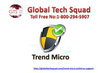 Trend Micro Antivirus Support to Remove Trojan Threat Call 1-800-294-5907