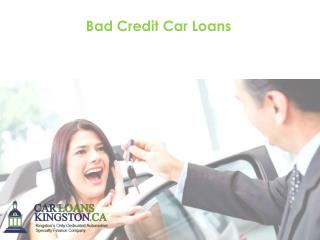 Finding A Car Loan After Bankruptcy….It is Possible