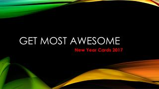 Get Awesome New Year Cards 2017 for Happy New Year