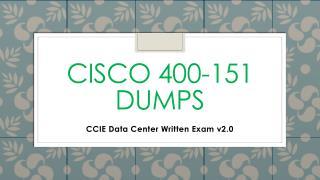 400-151 Practice Test Dumps